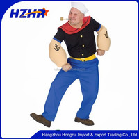 Carnival Costume Uniform Popeye Costume