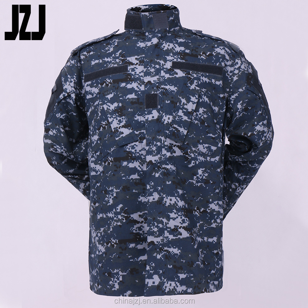 Factory For Military Army Uniform Digital Woodland T/C 65% Polyester,35% Cotton Ripstop 180-230G Military Jacket And Pants