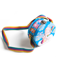 Fantastic metal tin lunch box toy packaging box with ribbon