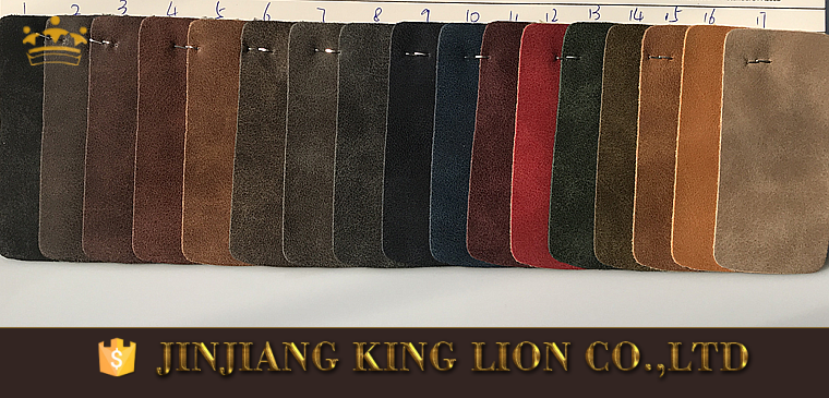New arrival synthetic material vintage pu leather for man shoes