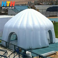 Used inflatable outdoor tent for advertising and camping