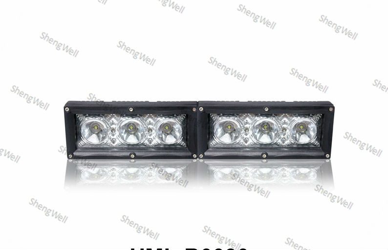 "Single Row Combinable CREE led bar 9--32v IP67 Wholesale 30W 7"" factory directly 12month warranty 4 x 4 led driving light bar"