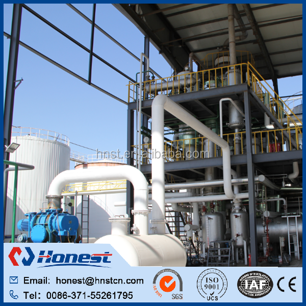 Converting vegetable oil to biodiesel plant for sale