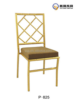 Rental Cross back luxury wedding banquet chair sale cross chair chiavari sales