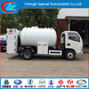 Hot sale in Nigeria 5CBM gas filliing tank truck LPG bobtail truck mobile gas station truck