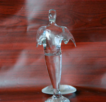 Character sculpture 2016 new design factory price crystal award, crystal trophy
