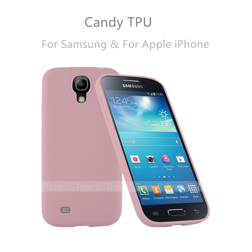 Universal Protective Shockproof Candy Soft TPU Phone Cases for Samsung Galaxy S4 Cases