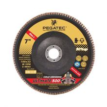 PEGATEC ULTIMATE 7inch VSM flap disc for stainless steel with MPA certification