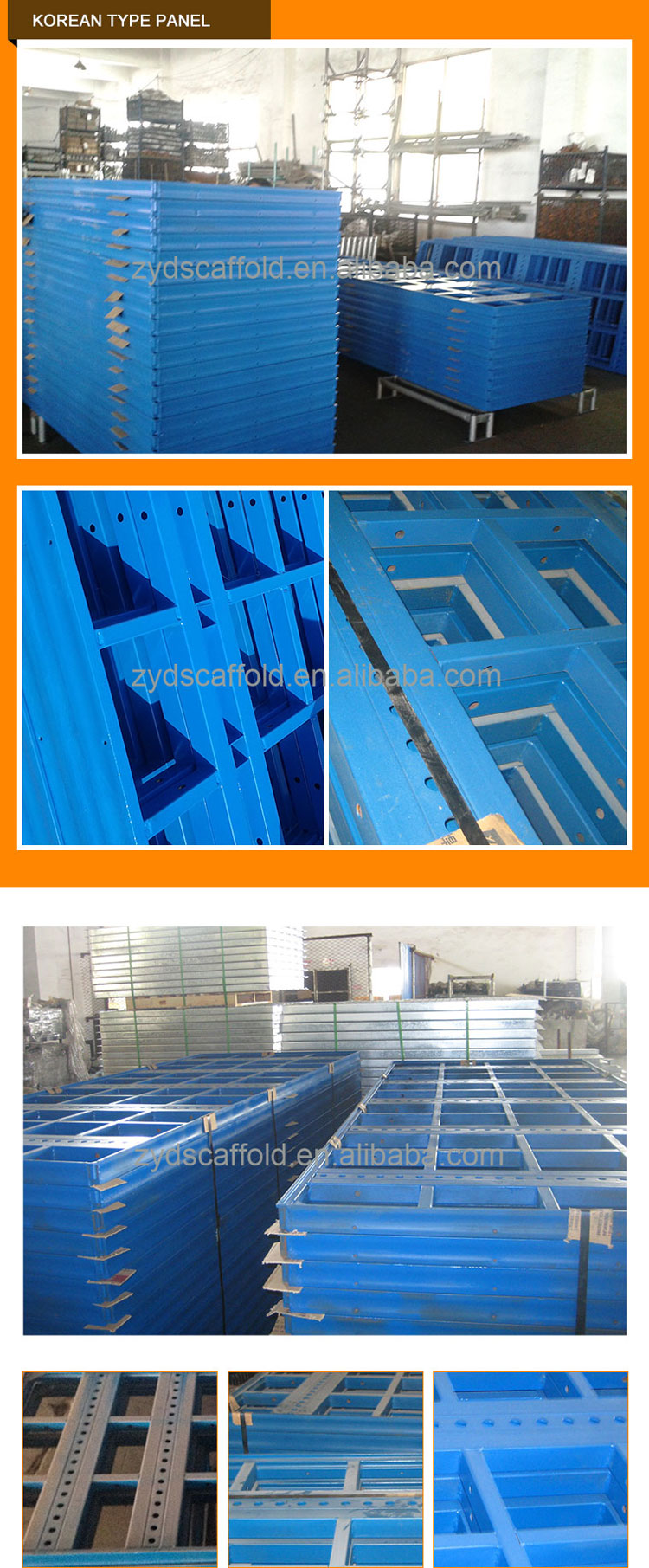 Factory Price Scaffolding System Concrete Slab Formwork