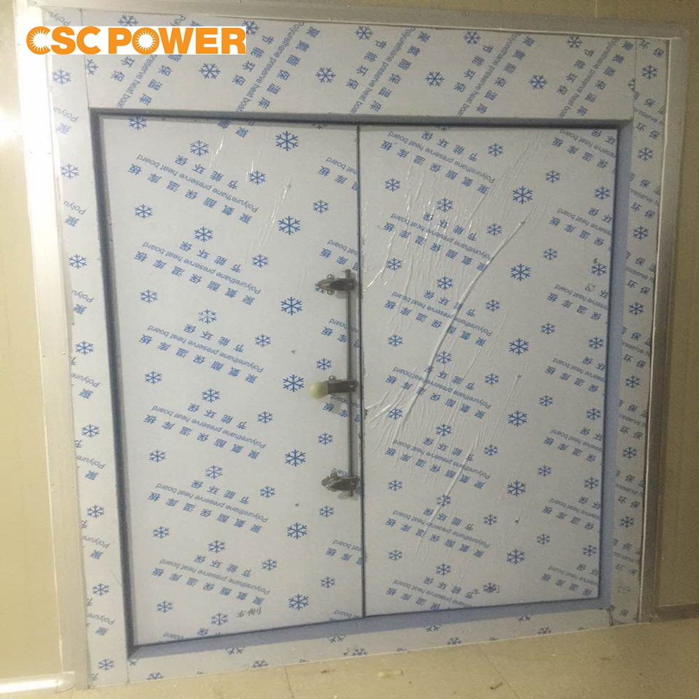 cold room sliding door with pvc frame