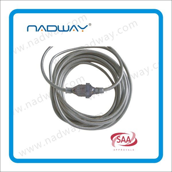 Nadway Gray Black and orange SAA Heavy Duty Extension Lead 30M/Australian Extension cable (09-PT8151030) 15Amp Lead, 10Amp