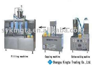 Gable top Juice filling machine