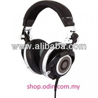 Quality IFROGZ DJ headphones/ head set - MOGUL STEALTH Black