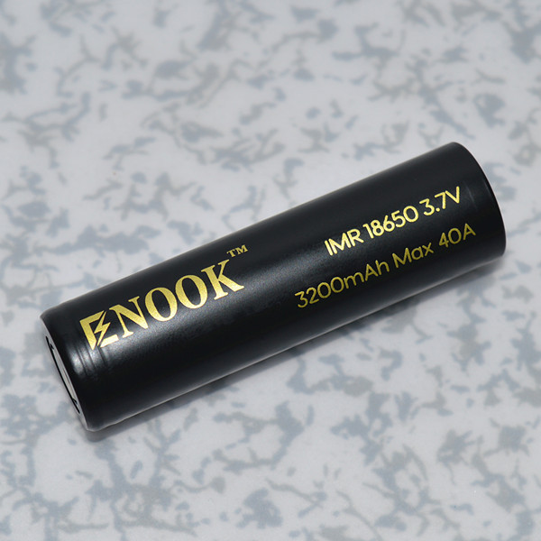 Enook rechargeable battery 18650 3200mah 40A 3.7V golden lithium ion batery 18650