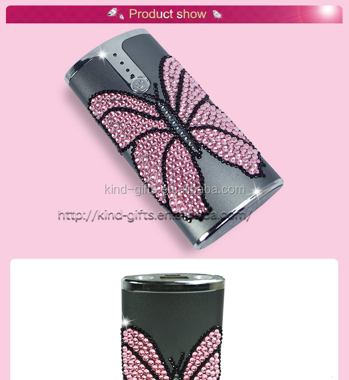 Power Bank Portable Mobile Phone Charger w/Mirror