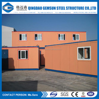 Flat pack / Best selling / Cheap Modified Prefab Container House / Office / Modular house / Prefab house manufacturer