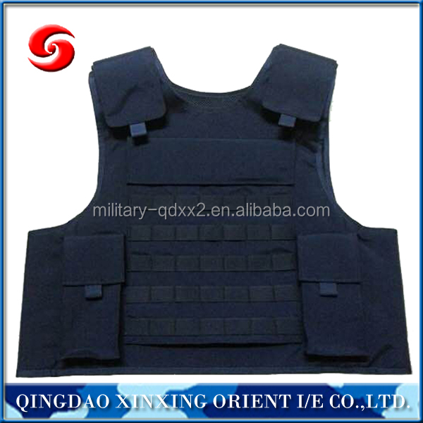 Quick release tactical body military bulletproof vest/ bullet proof vest for security