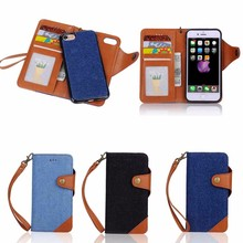 Fashion Cowboy Design Leather Wallet Case for iPhone 7, for iPhone 7 case