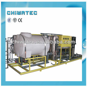 Indusrtial 15T/H RO water plant with PLC controller
