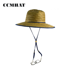 CCM 2018 New Function Custom Branded Straw Lifeguard Hat