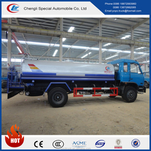 China low price4X2 4X4 dongfeng light duty 8000liters water spraying vehicle for sale