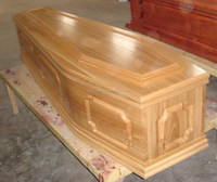 UK style paulownia wood funeral coffins for sale