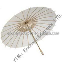 Promotional Custom Logo Print Bamboo Umbrella