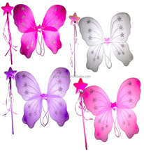 Customized party animal largegirl fairy wings for kids