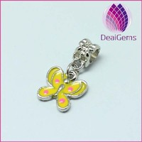 Bracelet Pendant Butterfly Large Hole Beads Charms