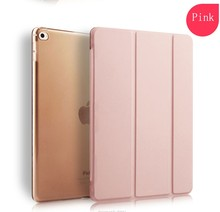 New Arrvial Fashion Designs Pu Leather For Apple Ipad Air Clear Case ,For Ipad Air 2 Smart Cover