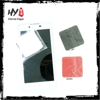 Plastic microfiber screen cleaner, mobile phone cleaner, custom logo laptop sticky screen cleaner