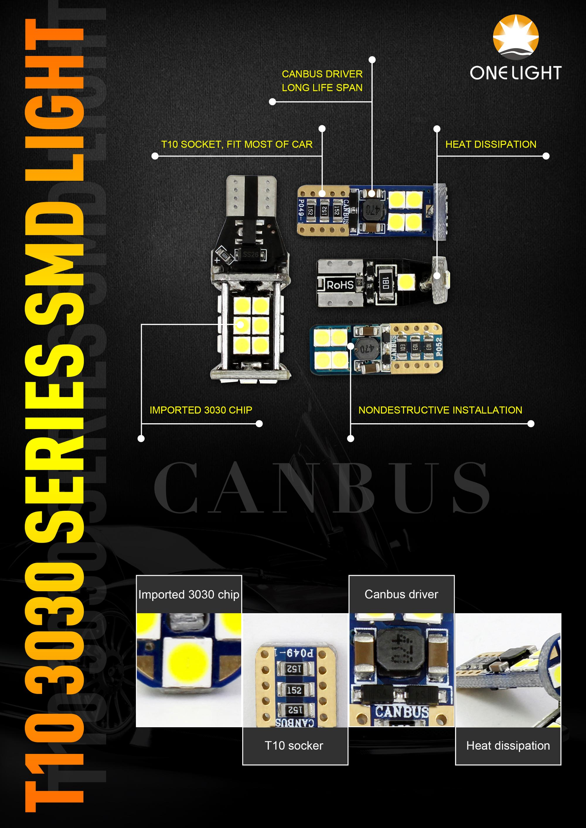 New Arrival canbus built-in VT6 H4 auto lighting parts LED headlight for all cars