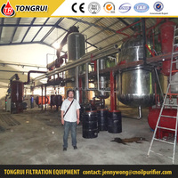 No chemical vacuum system used oil filtering machine