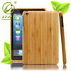 2015 hot sell original wood case bamboo case for ipad mini /for mini ipad with custom design