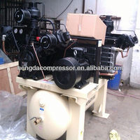10bar piston air compressor with tank double cylinder airbrush compressor
