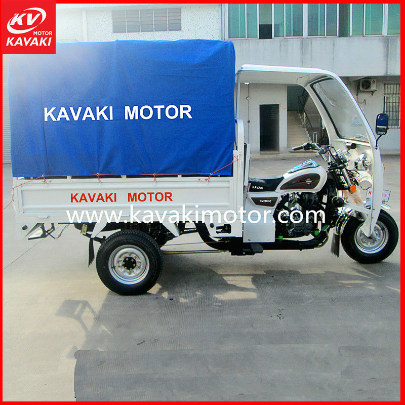 Guangdong Ambulance Motorized 3 Wheel Tricycle/Trike/Motor For Passenger