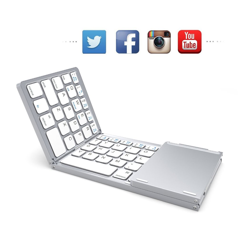 bluetooth smart tv use flexible mini keyboard For apple wireless keyboard