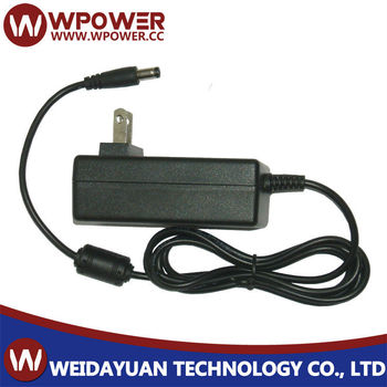 9V 3A 27W Plug In AC To DC Switching Mode Power Supply Adapter
