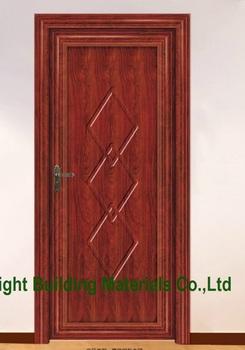 Latest single wooden main door design interior door room for Wooden single door design for home