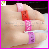 Premium his and her heart silicone wedding ring/wedding ring his and hers sets