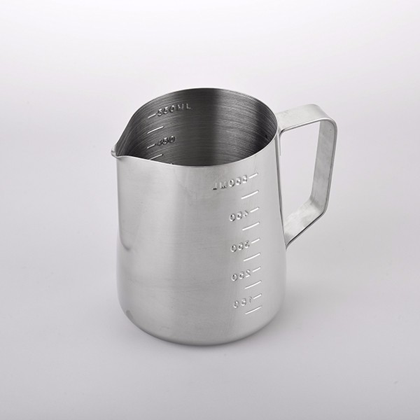 Milk Pitcher Stainless Steel Milk Cup Frothing Pitcher