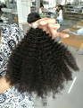 dijunhair Afro kinky curly Hair Weave,100% virgin brazilian human hair