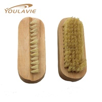 Custom Logo Cheap Wooden Cleaning Nail Brush MBS18035
