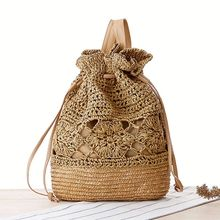 high quality corn husk straw woven bags for ladies