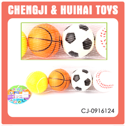 Cheaper 3 inch inflatable bulk stress balls