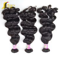 100% unprocessed 6a double wefts virgin peruvian hair wholesale cheap hair extension packaging