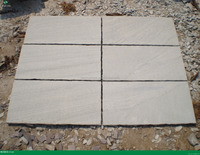 cutomized grey white sandstone slabs for sale