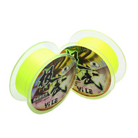 Super Wear-Resistance Rock Fishing 300m Fluorescent Yellow Fishing Line for Sale