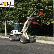 JIELI 2018 Mini Wheel Loder/CE Wheel Loader 800kg-ZL08 Mini Loader for Sale