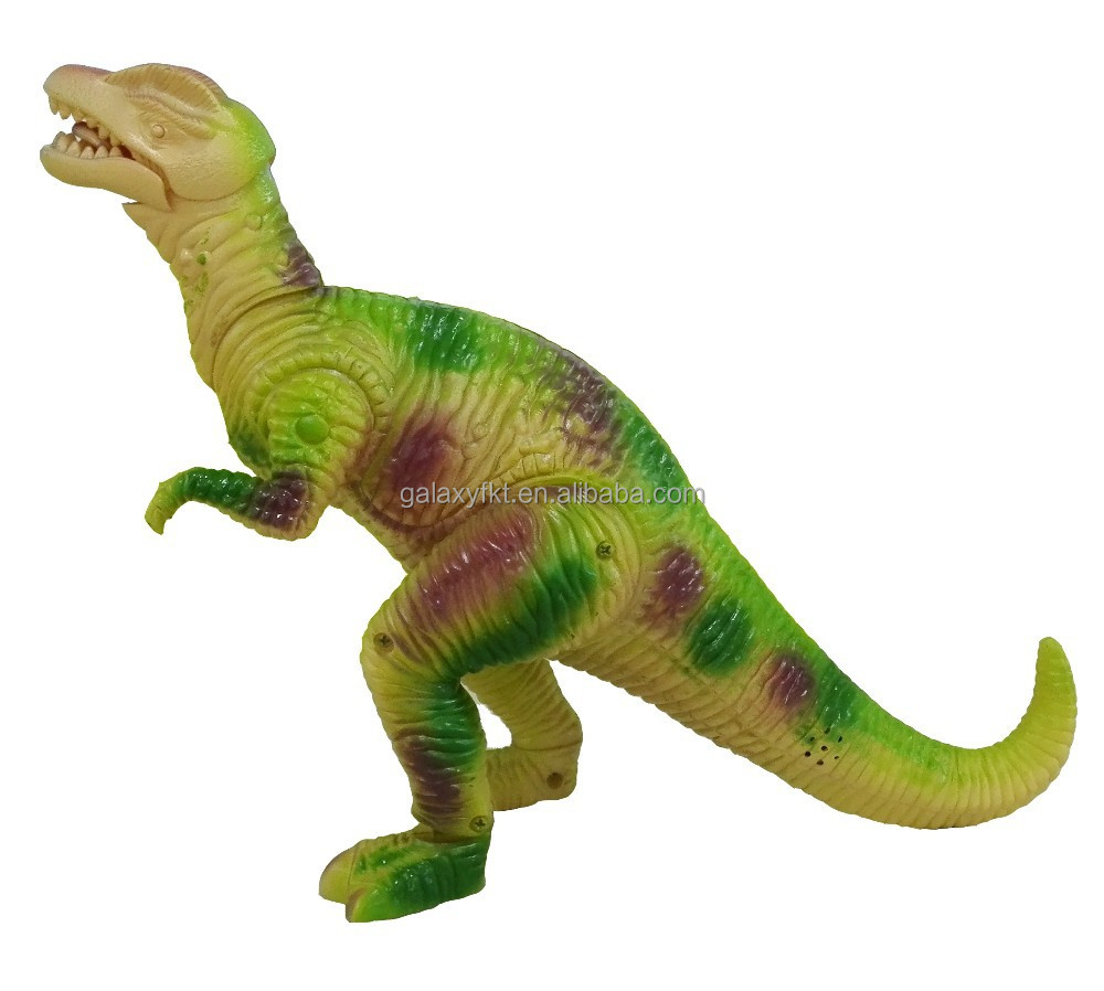 2015 Jurassic world plastic animal battery operated dinosaur toy,with Forward action&light &sound